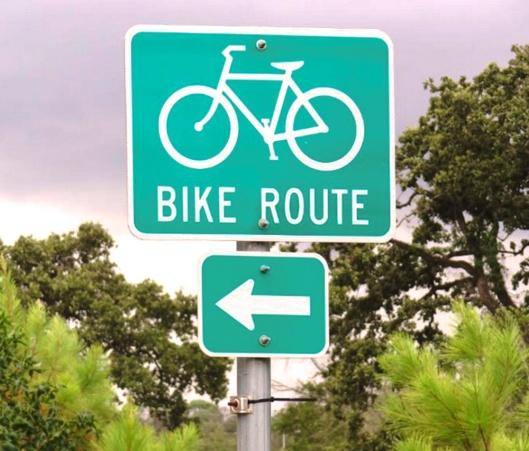 Atlas Concepts LLC_Bike Route Sign